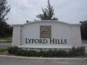 LYFORD HILLS,West Bay Street