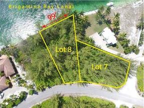 LOTS 7&8 BLOCK 174, TCB,Treasure Cay