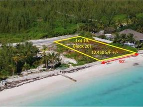 LOT 19, BLOCK 201, TCB,Treasure Cay